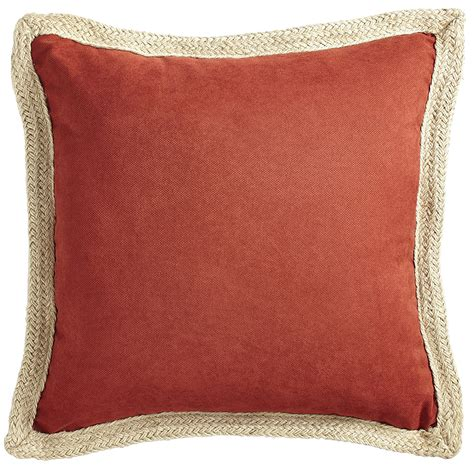calliope jute trim spice pillow backyard mamma