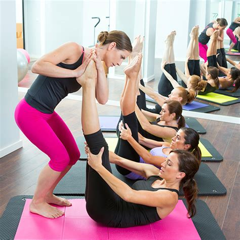 Pilates Mat Class by What S The Difference Between And Pilates Popsugar