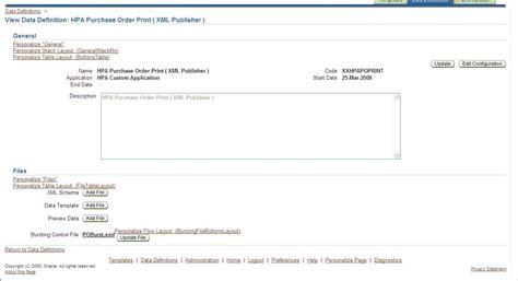 template xml bursting in xml bi publisher