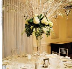 Winter centerpieces asianweddingblog