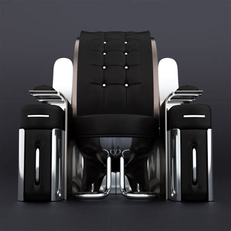 futuristic couch retro futuristic furniture rondocubic chair 01