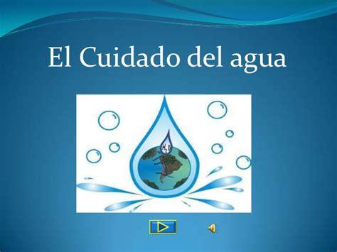 imagenes animadas sobre el agua el cuidado del agua