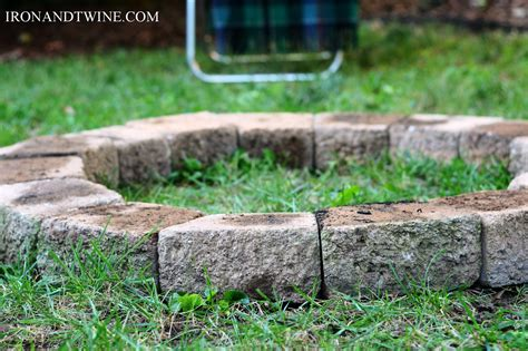 building a pit with retaining wall blocks how to build a pit
