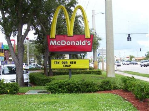 E Gift Card Mcdonalds - funny mcdonalds sign
