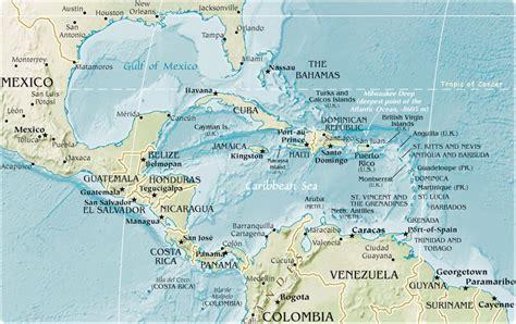 imagenes satelitales mar caribe imagens da am 233 rica central e caribe