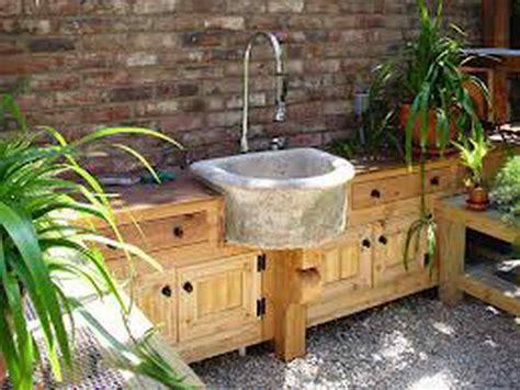 kitchen outdoor kitchen sink design outdoor kitchen sink