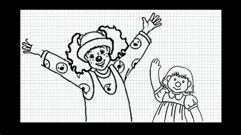 The Big Comfy Coloring Pages by The Big Comfy How To Draw Loonette And Molly Doll