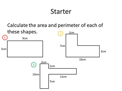 printable shapes to measure perimeter all worksheets 187 perimeter of compound shapes ks2