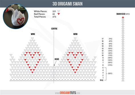 Origami 3d Anleitung by 3d Origami Swan 3d Origami