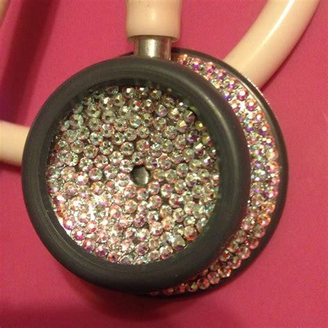 Hello Blink Handmade Swarovski Bling All Type custom swarovski stethoscope bling http www theblingqueenrn 8 50 ummmm