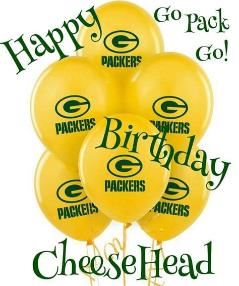 Green Bay Packers Happy Birthday Card 26 best bday gb packers images on green bay