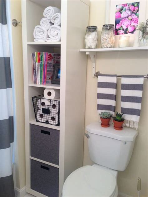 bathroom with storage 1000 ideas about small bathroom decorating on
