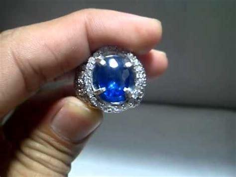 Batu Royal Safir batu permata royal blue safir code sf407