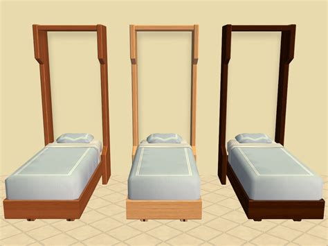 single murphy bed mod the sims murphy single and toddler beds