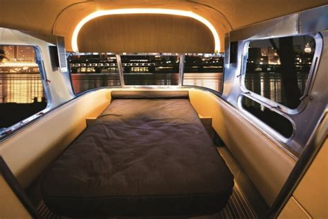 4 bedroom catamaran the new redesigned airstream interior a yacht on wheels