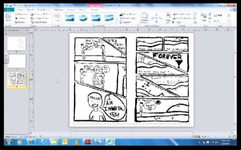 Tutorial Using Microsoft Publisher To Make A Mini Comic Making Visual Narratives Microsoft Publisher Photo Book Templates