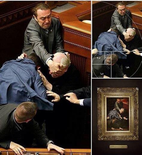 lo in parlamento ucraina rinascimento in parlamento lo scatto della rissa