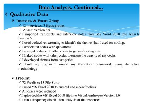 thesis data analysis presenting data in a thesis writefiction581