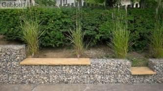 Planter Wall Blocks by Gabion Wall With Seat Gabion1 Australia