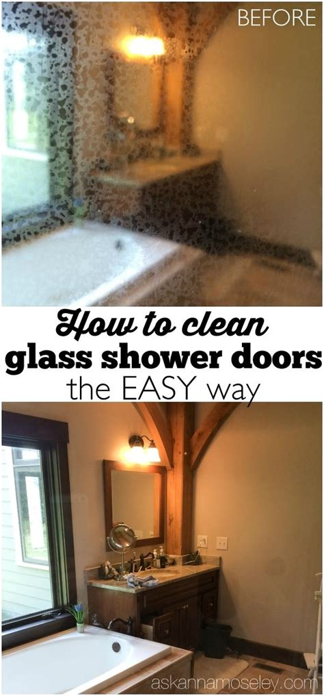 How To Clean The Shower Door 17 Best Ideas About Cleaning Shower Glass On Pinterest Cleaning Glass Shower Doors Cleaning