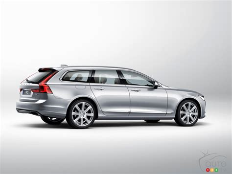 all new volvo v90 wagon unveiled in sweden car news