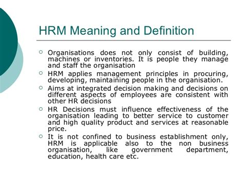 What Is The Purpose Of The Department Of Interior by Human Resource Management