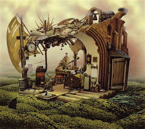 surrealism world of art amazing surreal paintings by a polish artist jacek yerka i like to waste my time