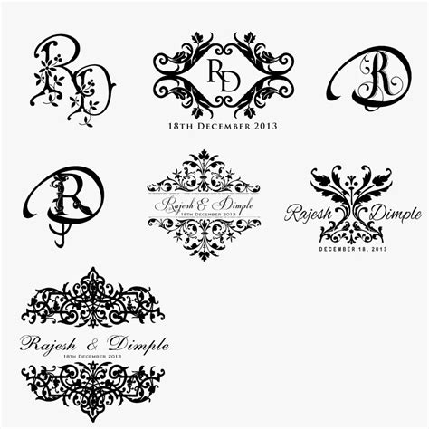 invitation design logos beautiful wedding invitation logo design wedding