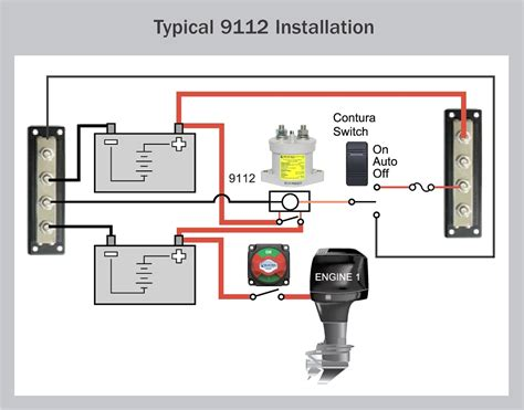 dual battery isolator wiring diagram how to install
