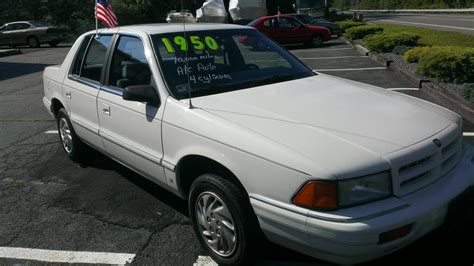 1994 dodge spirit information and photos zombiedrive