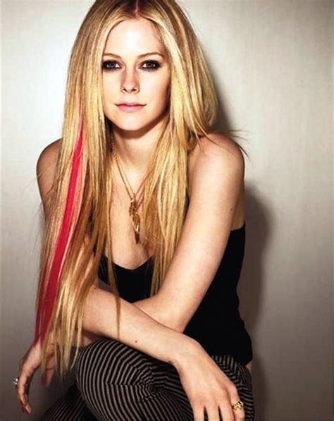 avril lavigne straight hair pictures of avril lavigne long straight hairstyles