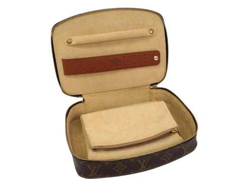 Mens Vanity Bag by Louis Vuitton Monogram S Storage Jewelry Carryall Vanity Travel Bag For Sale At 1stdibs