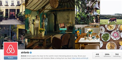 airbnb instagram brandchannel airbnb gap inc brands take a spin on