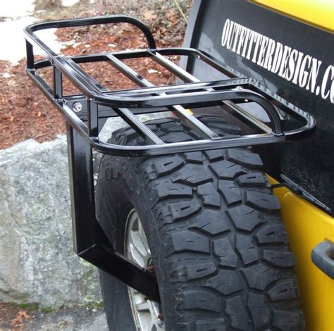 Spare Tire Cargo Rack by Hummer H3 Spare Tire Rack