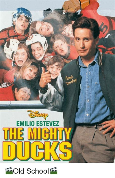 Mighty Ducks Meme - emilio estevez the mighty ducks old school meme on sizzle