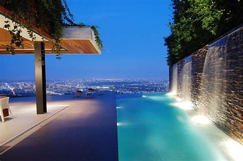 stunning house with pool and view luxury house with stunning view in hollywood hills los