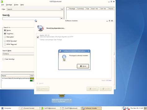 i am running opensuse 10 1 sles can i install non novell