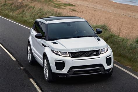 range rover evoque update 2016 range rover evoque facelift gets subtle updates image