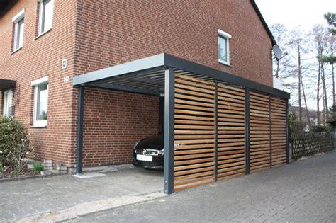 carport mit überdachung des eingangs garagenonline de