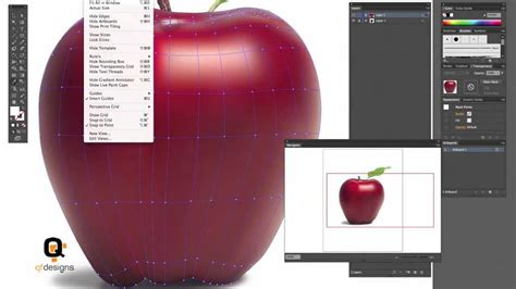 tutorial illustrator mesh tool illustrator gradient mesh beginners tutorial youtube
