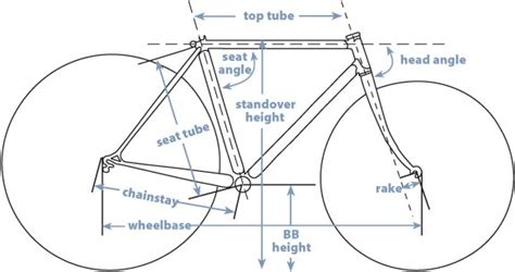 bicycle frame design geometry bicycle frame geometry terry peloton