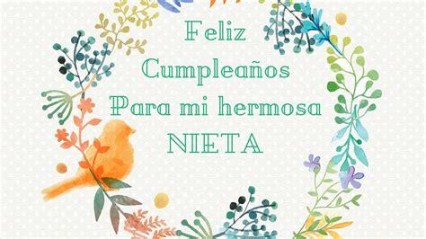 imagenes bonitas de cumpleaños para mi nieta tarjetas de cumplea 241 os para una nieta feliz cumplea 241 os