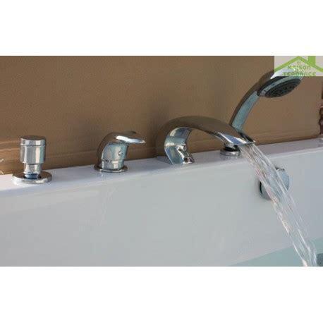 mitigeur baignoire 224 cascade en chrome 4 trous maison de