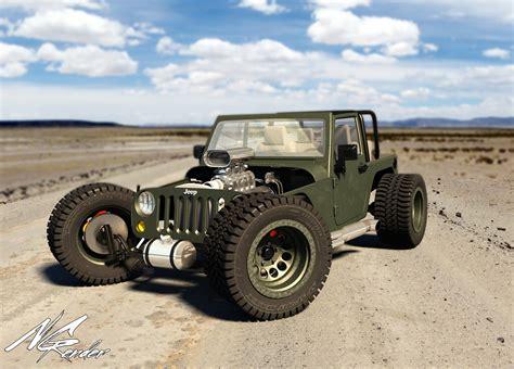 Hotrod Jeep Grishechko Jeep Wrangler Rod