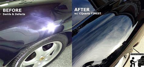 porsche before and after porsche 993 paint correction cquartz finest paint coating