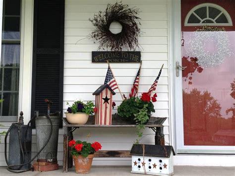 country primitive decorating ideas  front porch