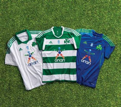 marseille kits 2013 2014 home away shirts official new panathinaikos kits 13 14 adidas panathinaikos 2013