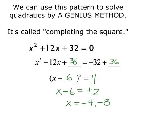 Solve By Completing The Square Worksheet by F T Completing The Square