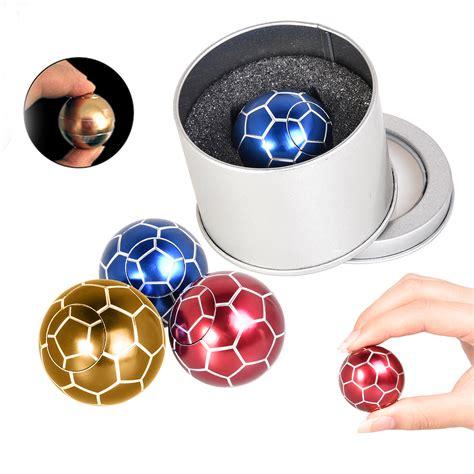 Metal Fidget Spinner Awer metal football fidget spinner finger stress relief gyro gifts ebay