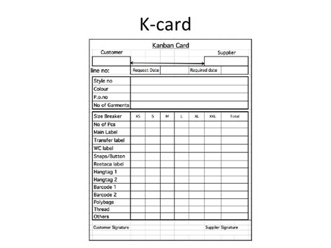 Production Route Card Template by Kanbanultimate Adi Apparel Interns